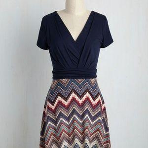 Modcloth Gilli Quintessential Comfort Jersey Dress